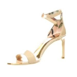 Ted Baker  Nude Womens Ulanii Ankle Strap Heels 8
